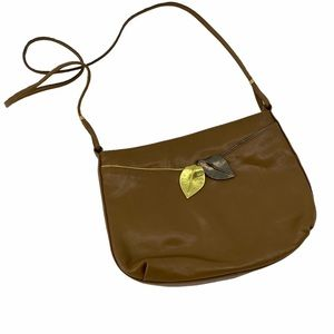 Joseph Magnin Made in Italy Vintage Leaves Bag